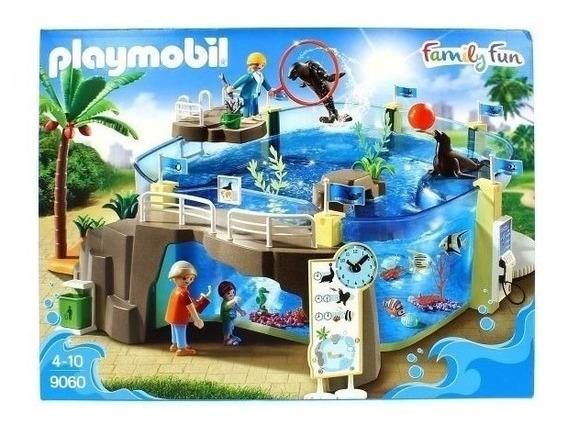Playmobil Family Fun Aquário 60 Peças 9060 Sunny