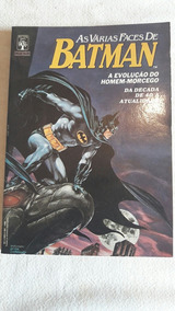 As Várias Faces Do Batman Número 1 Ano 1989 Quase Banca