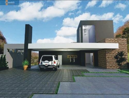 Condomínio Com Clube Completo - Mansão Impecável - Projeto Espetacular - Gv20450