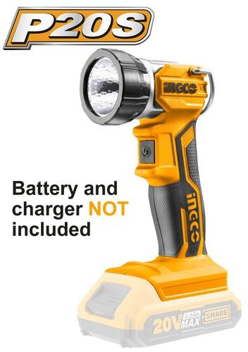 Linterna A Bateria 20 V Incgo S/bateria
