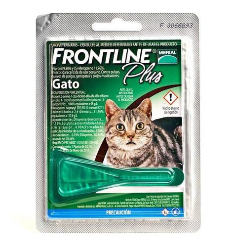Frontline Plus Antipulgas Para Gatos