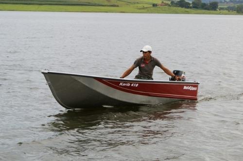 Bote Metalglass Karib 410 En  Duraluminio