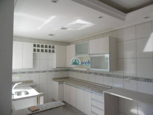 Cobertura À Venda, 100 M² Por R$ 305.000,00 - Jardim Das Maravilhas - Santo André/sp - Co0954