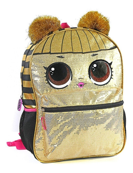 Morral Lol Surprise Bolso Escolar Queen Bee
