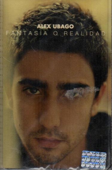 Cassettes Alex Ubago (fantasia O Realidad)