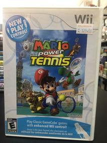 Mário Power Tennis Wii Usado