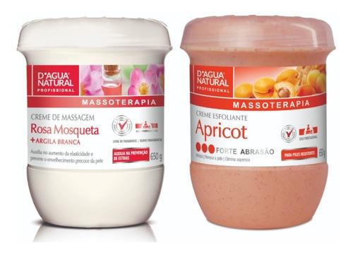 Imagem 1 de 1 de Kit Dagua Natural Rosa Mosqueta 650g+gel Redutor 750 G