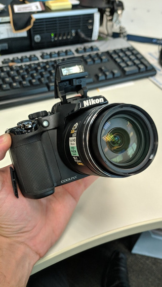 Camera Semi Profissional Nikon P510 Completa + Brinde