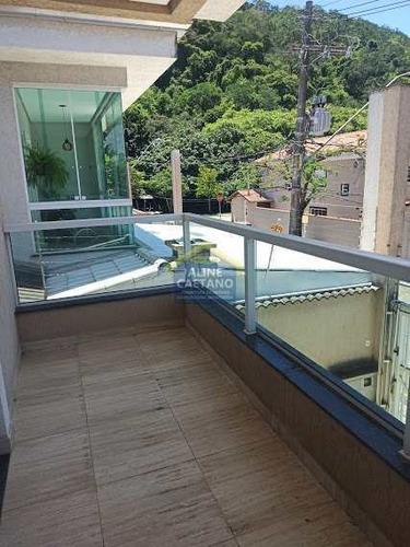 Casa De Alto Padrão Canto Do Forte   Venha Conhecer  Fino Bom G - Vcla64405