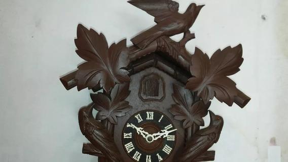 Relógio Cuco Antigo Década De 30/40 Original / 24