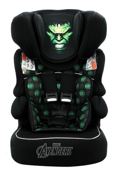 Cadeirinha Infantil Para Carro Marvel Beline Luxe Hulk
