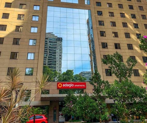 Ótimo Flat Em Um Complexo Com 2 Flats E Um Office, Bandeira Adagio, Venha Investir Em Moema - Sf28035