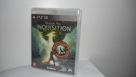 Dragon Age Inquisition Ps3 Mídia Física Novo Lacrado