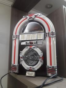 Jukebox Pequena Classic Modelo 2918 - 43x23x31