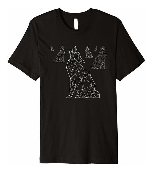 Camiseta De Poli Baja Wolf