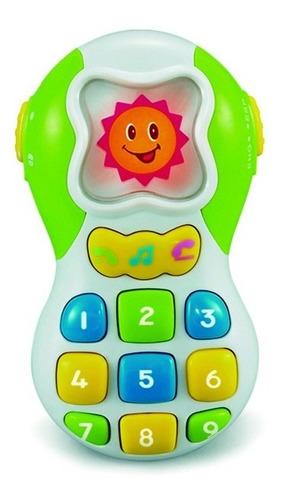 Telefono Didáctico C/ Luces Y Sonidos Celular Bebe Infantoys
