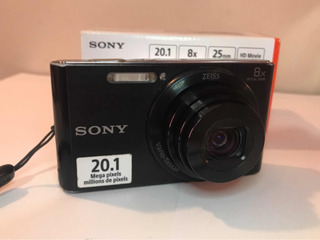 Cámara Sony W830 Compacta 20.1 Megapixeles