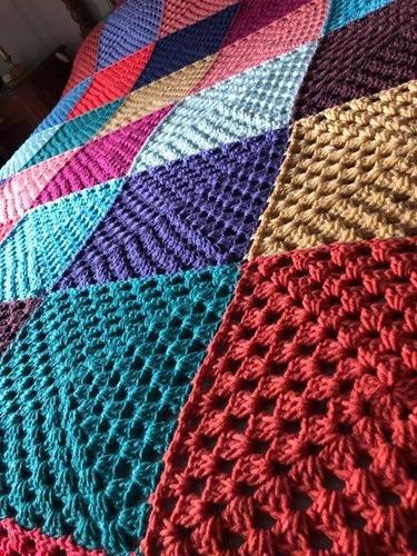 a3ef10a1d Borde Tejido Al Crochet Para - Colchas y Cubrecamas en Buenos Aires ...