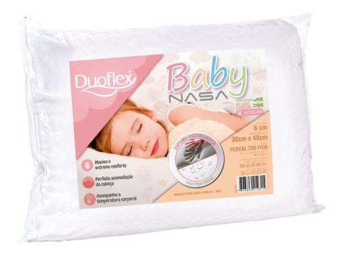 Imagem 1 de 7 de Travesseiro Nasa Baby Viscoelástico Capa Impermeável Macio