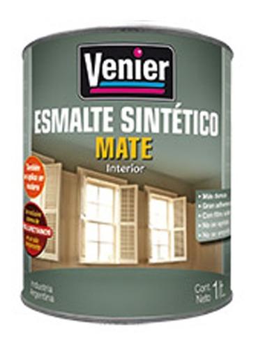 Imagen 1 de 6 de Esmalte Sintético Mate Venier 0,25 L Pintura  Pintumm
