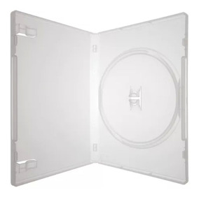 Box P/ Dvd C/ 100 Capinhas Capa Dvd Transparente + Brinde
