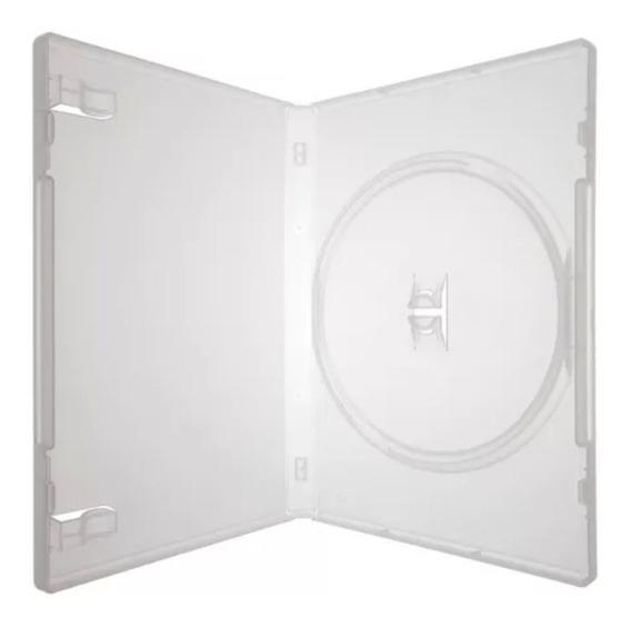 Box Capa Dvd 100 Capinhas Estojo Transparente Amaray Brinde