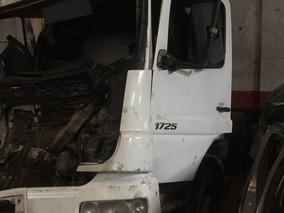 Mercedes Benz Atego 17,25 Chocado Dado De Baja Total