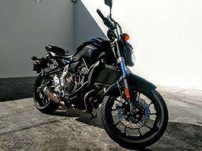 Yamaha Moto Fz07 750 Cc Negro 2016