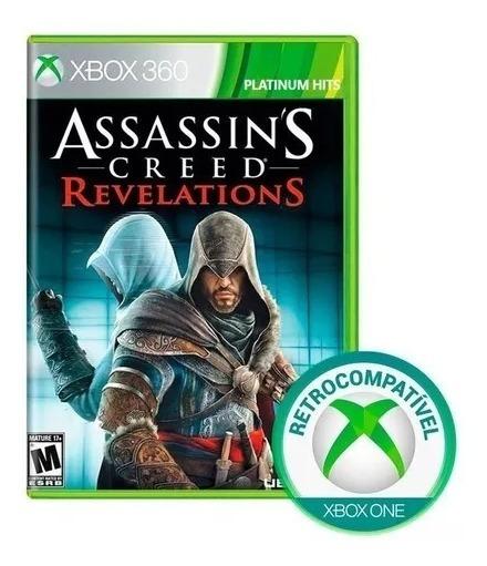 Jogo Assassins Creed Revelations Xbox360 Física Frete Grátis