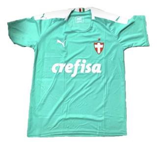Camisa Palmeiras - 2019 - Torcedor - Verde Água - Brasileiro