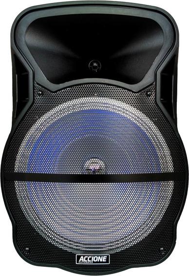 Caixa De Som Amplificada Cam-800 Bt Accione Com Karaoke
