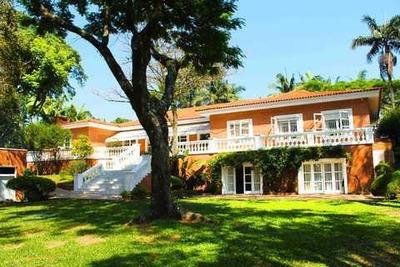 Casa Em Chácara Flora, São Paulo/sp De 1745m² 6 Quartos À Venda Por R$ 38.000.000,00 Ou Para Locação R$ 60.000,00/mes - Ca189454lr
