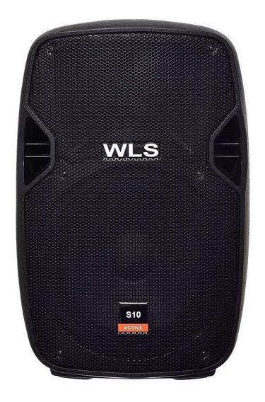 Caixa Ativa Wls S10 150 Watts 10 Usb Sd Bluetooth Bivolt
