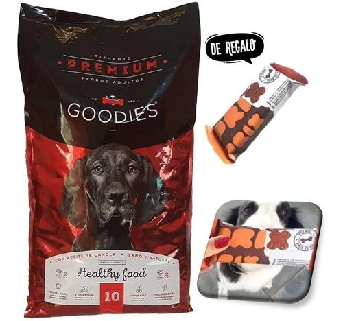 Alimento Balanceado Premium Perro Goodies Bolsa 10kg Envio