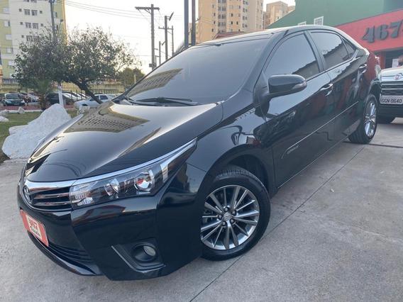 Toyota Corolla Xei Aut 2017 Preto