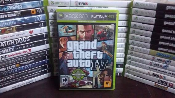 Gta 4 Iv Xbox 360 - Original - Mídia Física