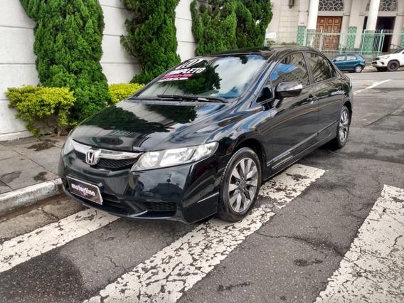 Honda Civic Lxl 1.8 Aut 2010 Preto Completo