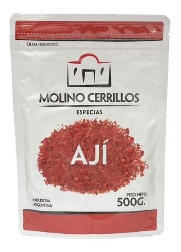 Ají Picante Molido Premium Molino Cerrillos 500g Sin Tacc