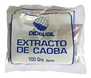 Extracto De Caoba Dideval, Bolsa De 100 Gr.