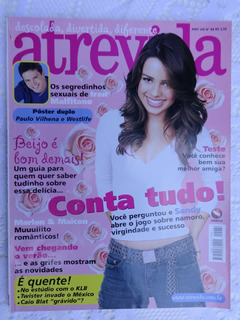 5 Revistas Atrevida - Sandy & Junior - Cauã - Gagliasso