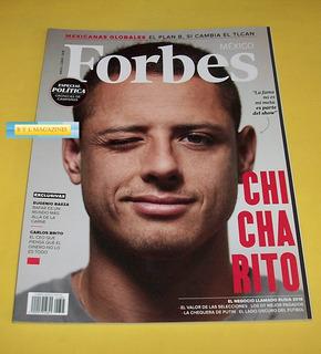 Javier Hernandez Revista Forbes 2018 Chicharito Aaron Diaz