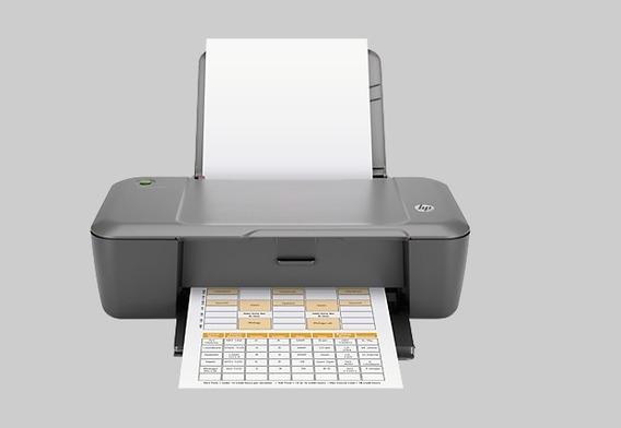 Impresora En Oferta Hp Deskjet 1000 Nueva Original S/c