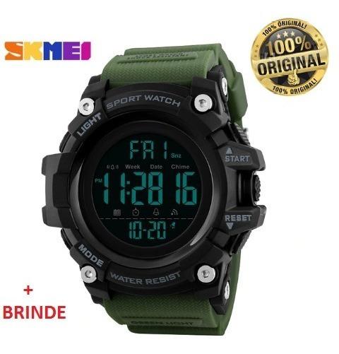 Relógio Masculino Skmei Digital 1384 Verde