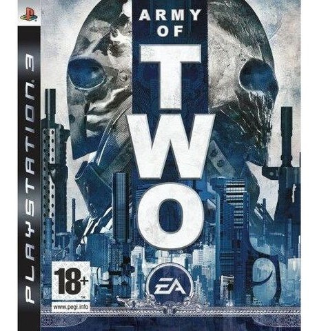 Jogo Army Of Two De Playstation 3 Ps3 / Midia Fisica