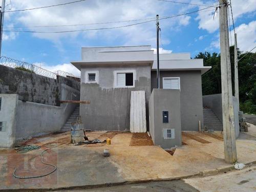 Casa Nova Com 2 Dormitórios, Sendo 1 Suíte, À Venda, 68 M² Por R$ 320.000 - Nagoya Garden - Vargem Grande Paulista/sp - Ca1368