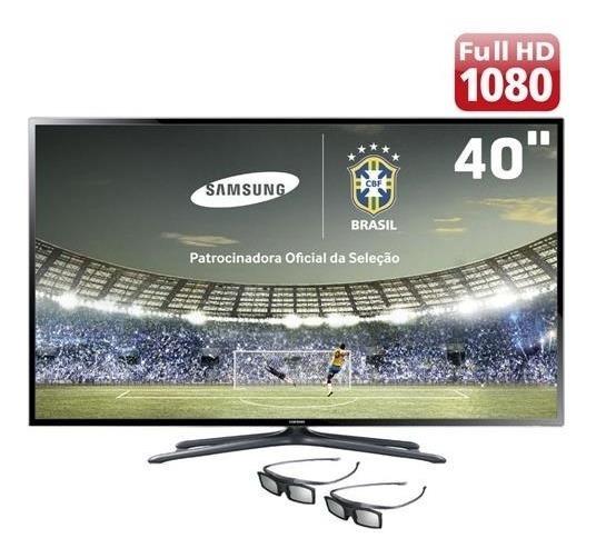 Smart Tv 3d Led 40 Samsung Full Hd Hdmi Usb Wi-fi Un40f6400