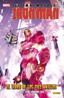 Panini - Invencible Iron Man - El Libro De Los Diez Anillos