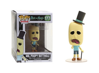 Funko Pop #177 Mr Poopy Butthole - Rick And Morty - Original