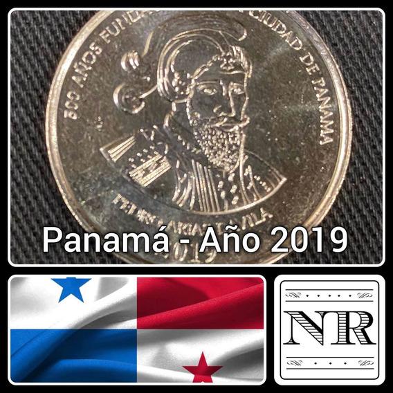 Panamá - 1/2 Balboa - Año 2019 - Km # Nd - Fundación Panama