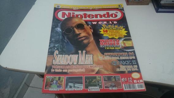 Revista Nintendo World 12 Rarissima Impecável